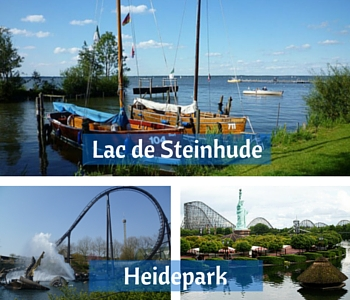 Lac de Steinhude, Heidepark, paysage Basse-Saxe