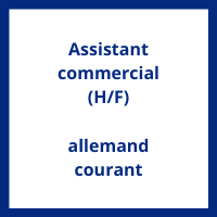 Salaire Assistant commercial allemand courant en France