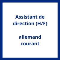 Salaire Assistant de direction allemand courant en France