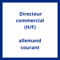 Salaire Directeur Commercial allemand courant