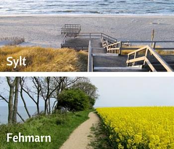Iles, Fehmarn, Sylt