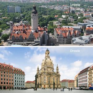 Leipzig, Dresde