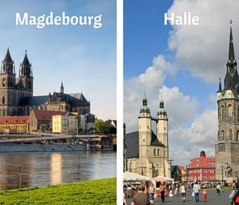 Magdebourg et Halle
